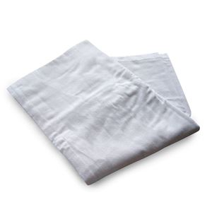 Picture of Cotton Flannel Sheet Flat - White