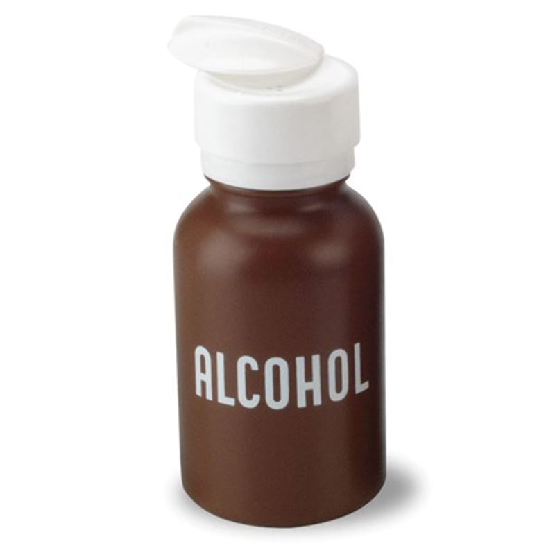 Picture of Pump Alcohol Dispenser Bottle 8 oz