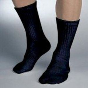 Picture of SensiFoot Crew Sock Black/X-Small