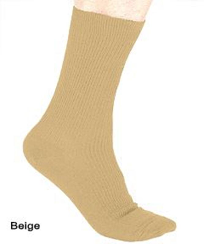 Picture of Mens Non Elastic Cuff Socks - Crew Sock