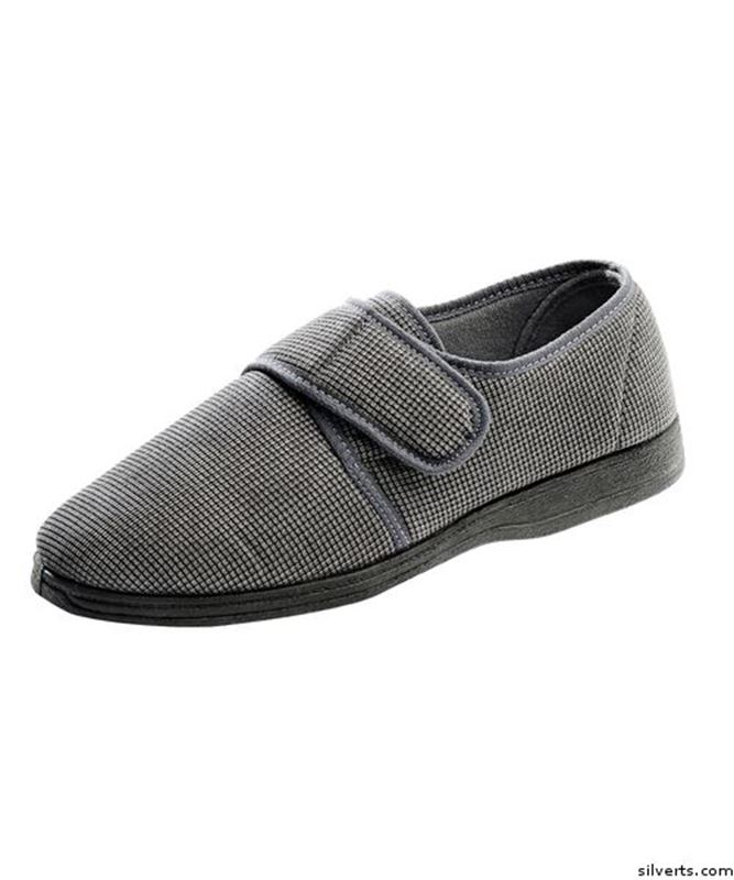 Picture of Men's Wide Adjustable Closure Slippers