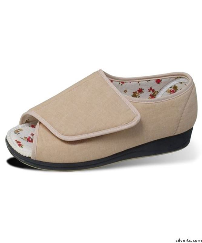 Picture of Womens Extra Wide Deep Shoes Sandals Or Slippers Open Toed