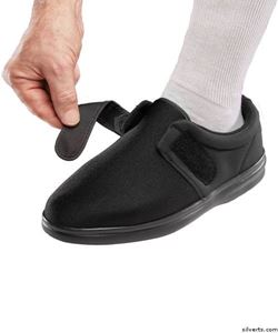 Picture of Washable Extra Wide Diabetic Shoes - Adjustable Closure Shoes For Men