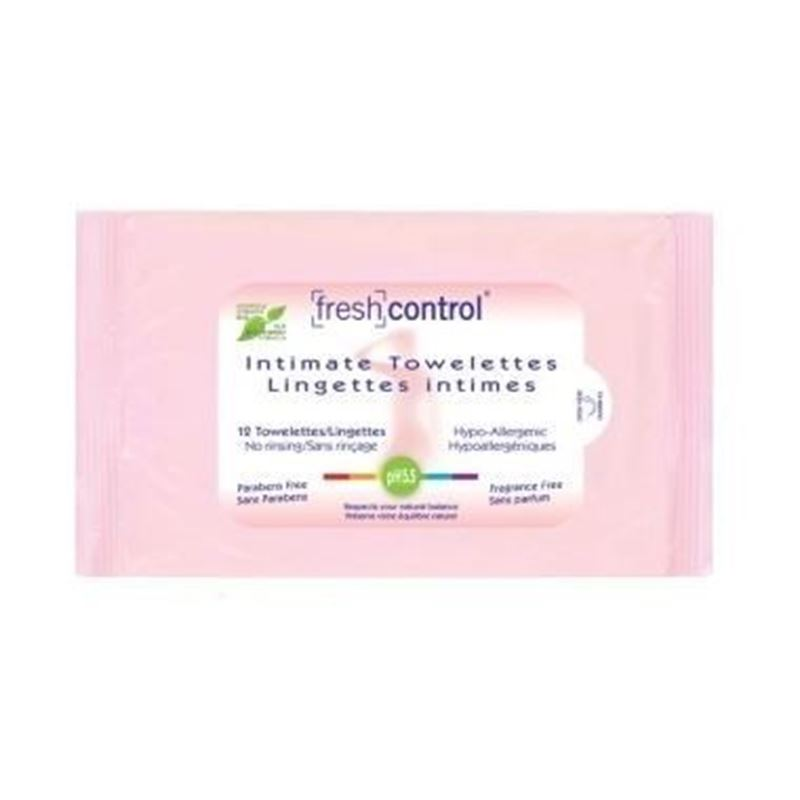 Picture of Fresh Control Intimate Wipes