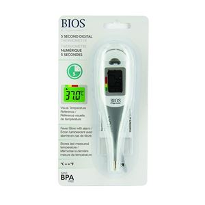 Picture of Jumbo 5 Second Thermometer with Fever Glow