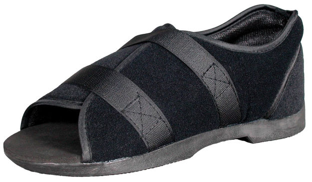 Picture of Softie Surgical Shoe Black Mens Or Womens