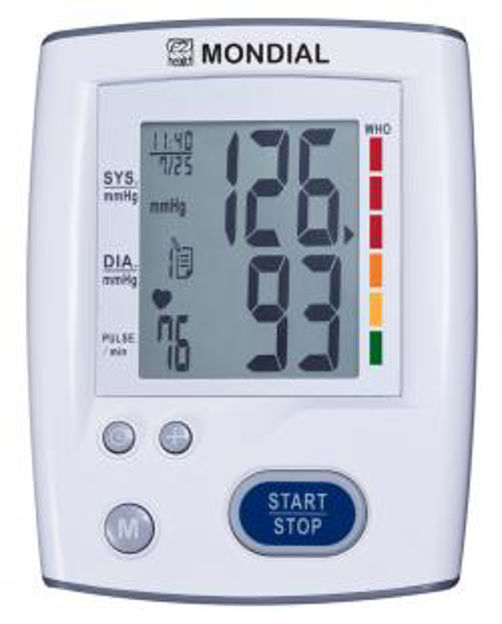 Picture of MONDIAL AUTOMATIC BLOOD PRESSURE MONITOR(ABP-C3)