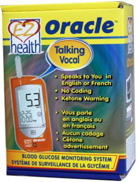 Picture of EZ HEALTH ORACLE BLOOD GLUCOSE MONITOR(GMH-B1SET)