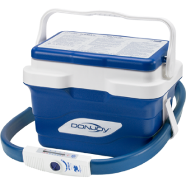 Donjoy Iceman CLASSIC Cold Therapy Unit with Cuff Pads (Motorized Cooler)