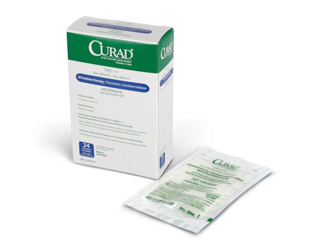 CURAD Sterile Oil Emulsion Gauze