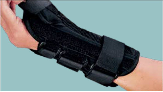 Wrist brace with Abducted Thumb