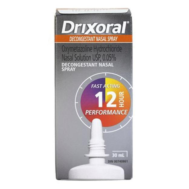 Drixoral Decongestant Nasal Pump