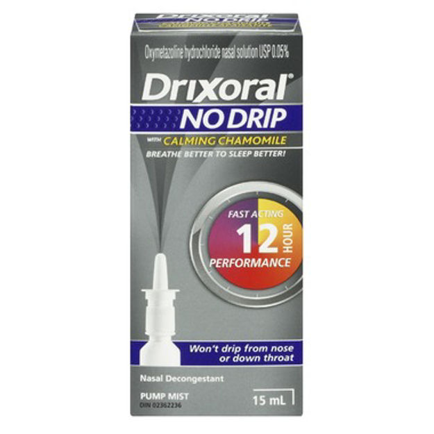 Drixoral NO DRIP with Chamomile Nasal Decongestant ** NOT AVAILABLE **