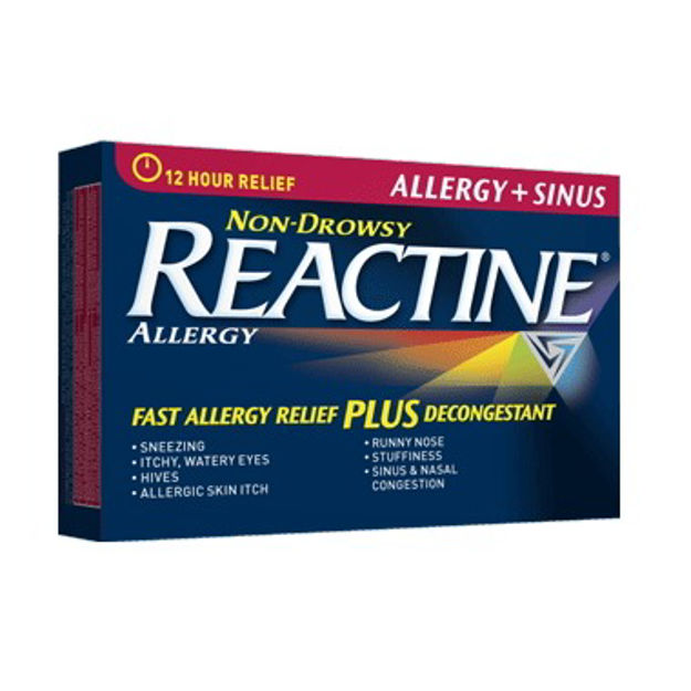 Reactine Allergy and Sinus