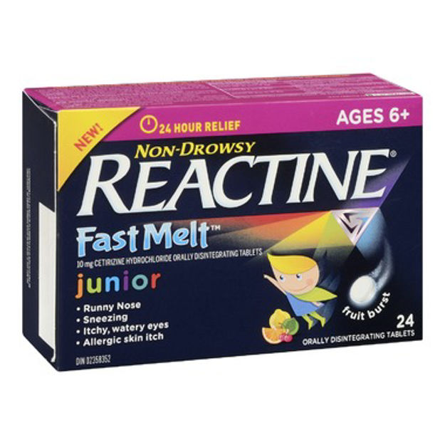 Reactine Allergy Junior Fast Melt Tablets