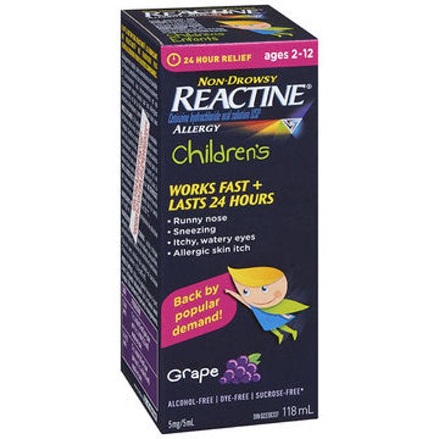Reactine Liquid Child Grape