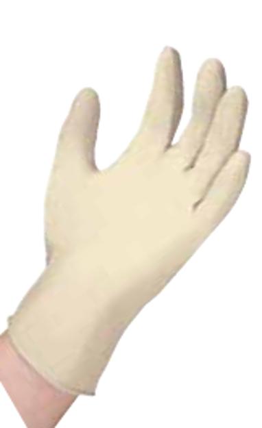 Examination Grade Latex Gloves Powder Free- Large