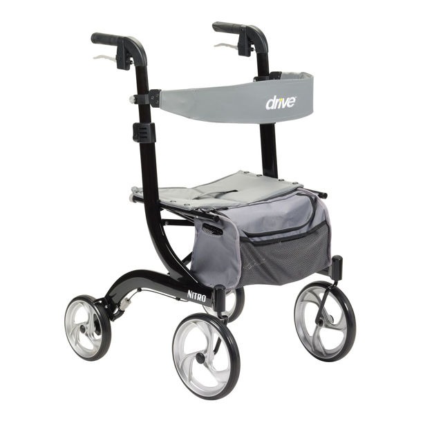 Picture of Euro Style 4 wheel Nitro Rollator (Tall Height)