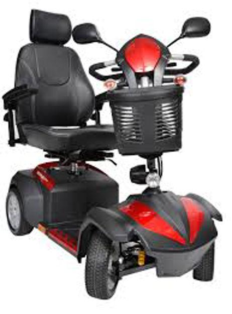 Ventura Deluxe 4-Wheel Scooter