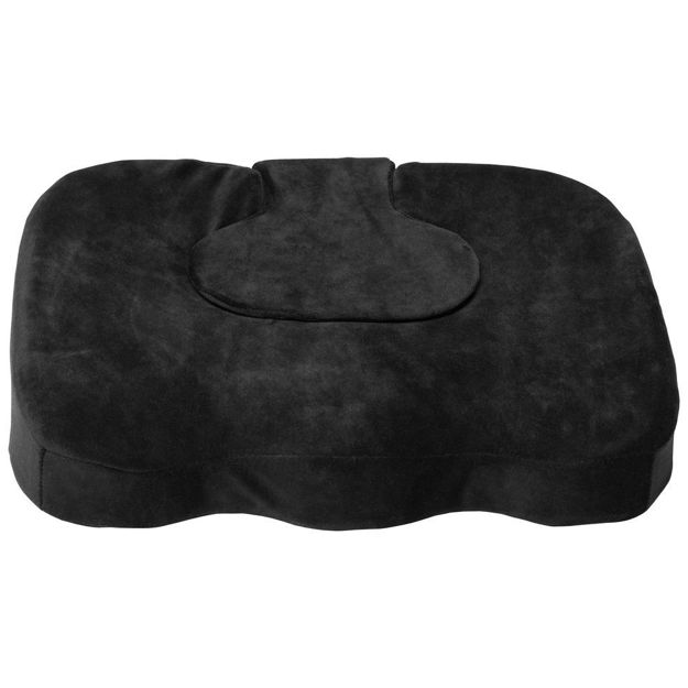 Orthopedic Seat Cushion With Removable Pad