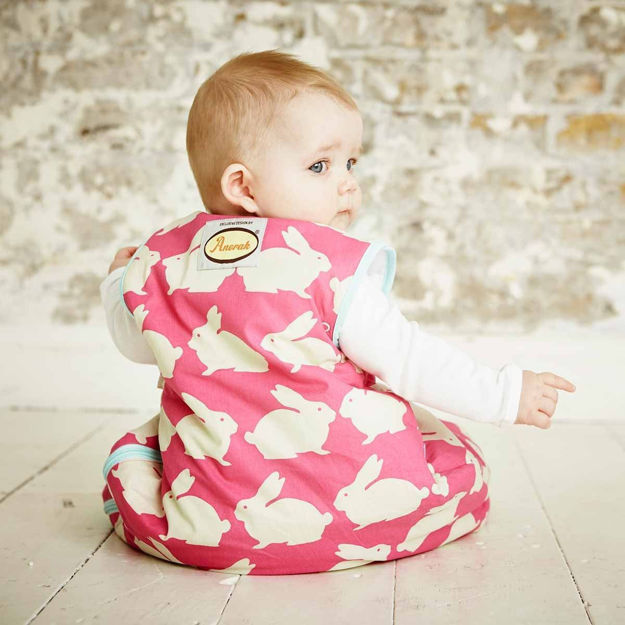 GROBAG - Baby Sleeping Bags Anorak- Kissing Rabbits ** NOT AVAILABLE **