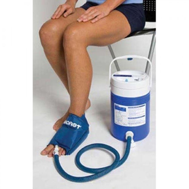 Aircast Foot Cryo/Cuff with Cooler (Motorized Kit)
