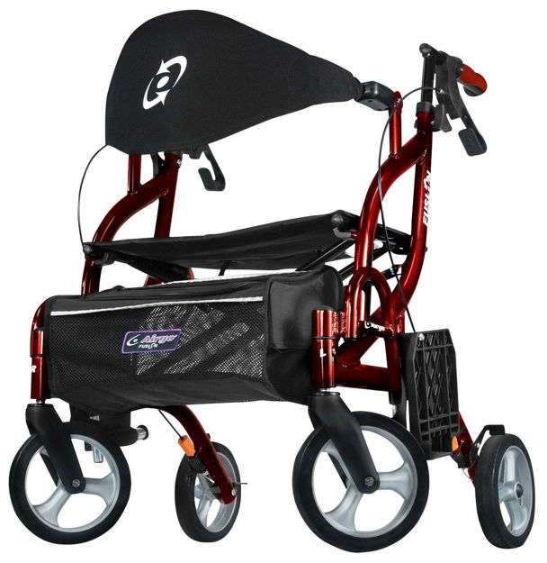 Airgo Fusion F18 Side Folding Rollator and Transport Chair