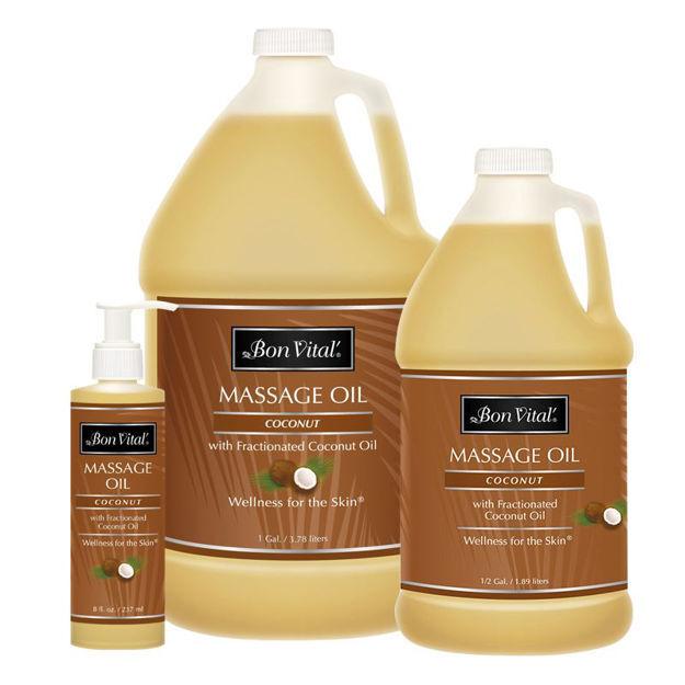 Picture of Bon Vital Coconut Massage Oil