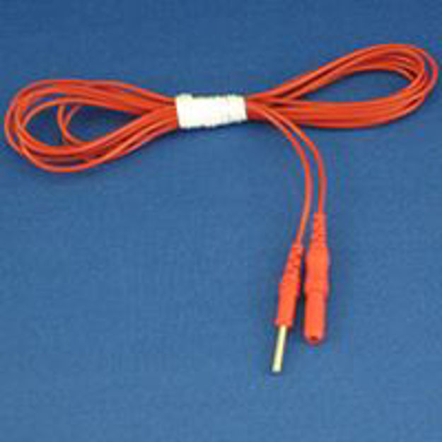 Picture of Red Active Lead Wire for GHV Stimulator GV350