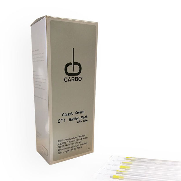 Carbo Long Acupuncture Needles .35 x 125 mm