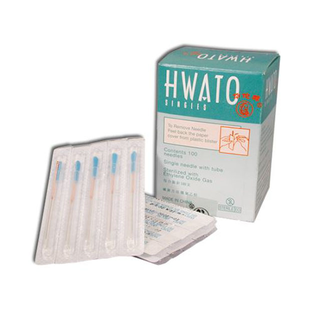 Hwato Acupuncture Needles with Tube