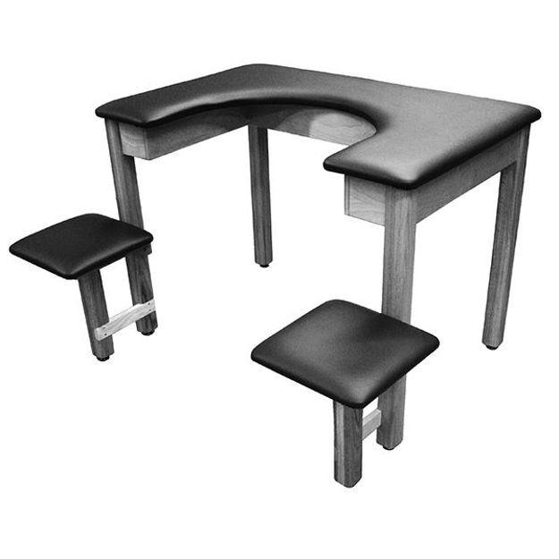 Combination Table/Seat 61 Cm Lo-Boy Bath