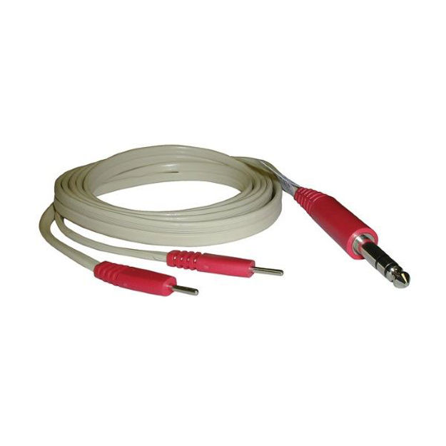 """Picture of Dynatron Lead Wire Safety Style 72"""" Red"""
