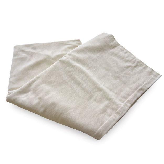 Cotton Flannel Sheet Flat - Ivory