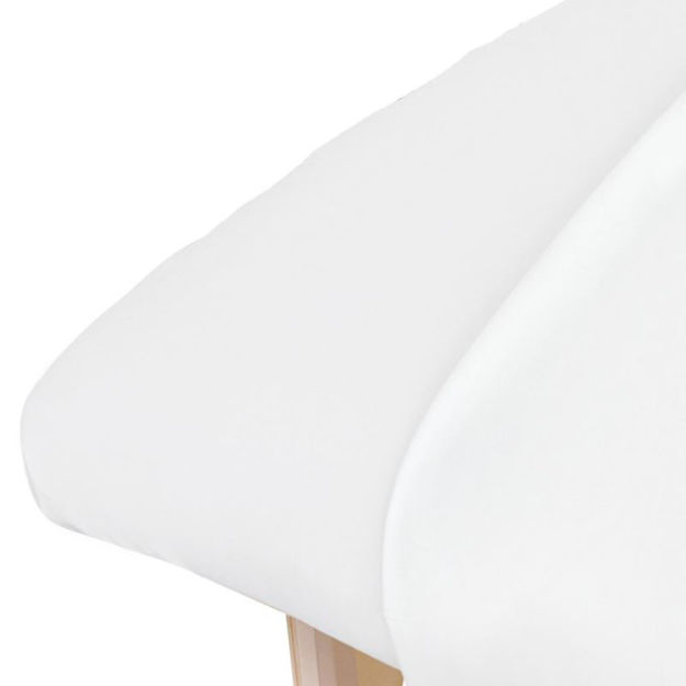 Picture of Cotton Flannel Sheet Fitted - White