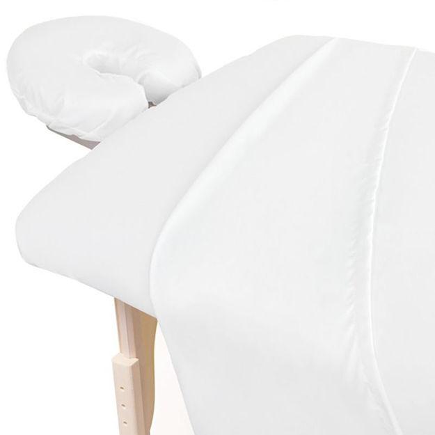 Flannel Sheet Set 3 Pieces - White