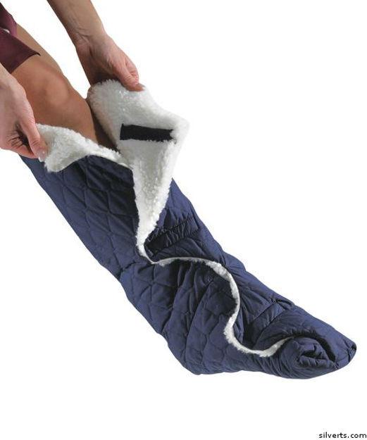 Womens / Mens Deep Wide Slippers Adjustable Closures