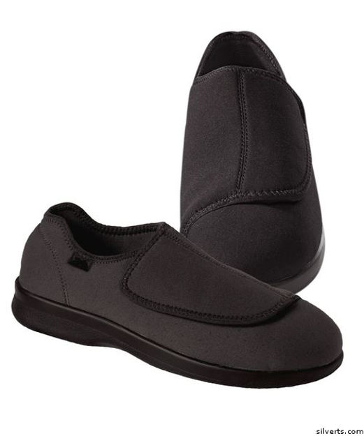 Mens Stretch Shoe With Adjustable Strap