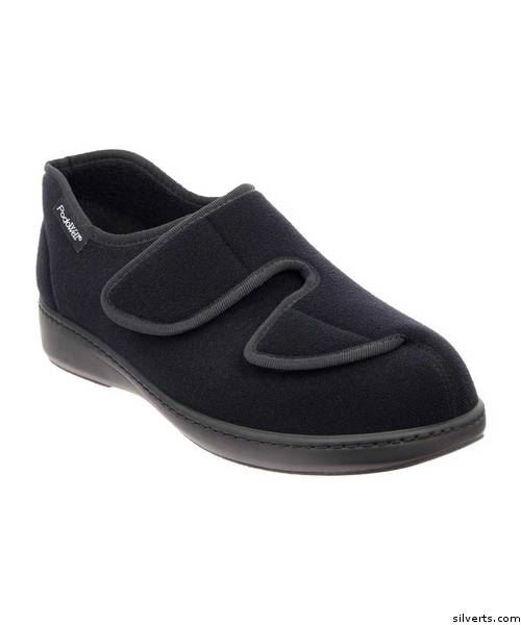 Wide - Mens Indoor Outdoor Shoe / Slipper (Swollen Feet & Edema)