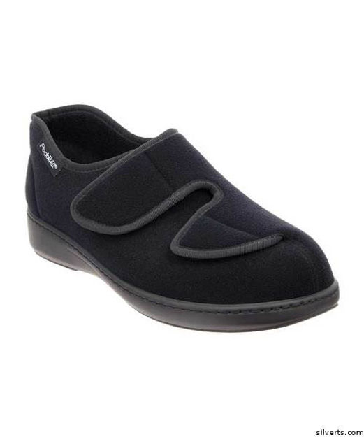 Wide - Womens Indoor Outdoor Shoe / Slipper - Great For Swollen Feet & Edema