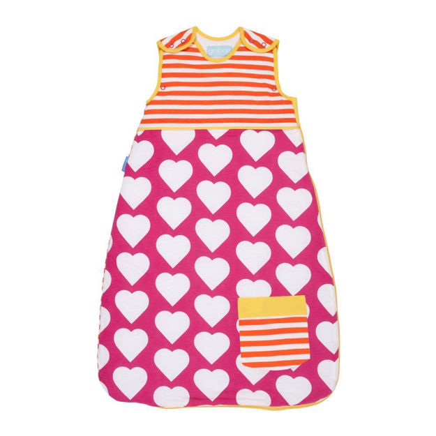 Picture of GROBAG - Baby Sleeping Bags For Travel Pocketful of Love ** NOT AVAILABLE **