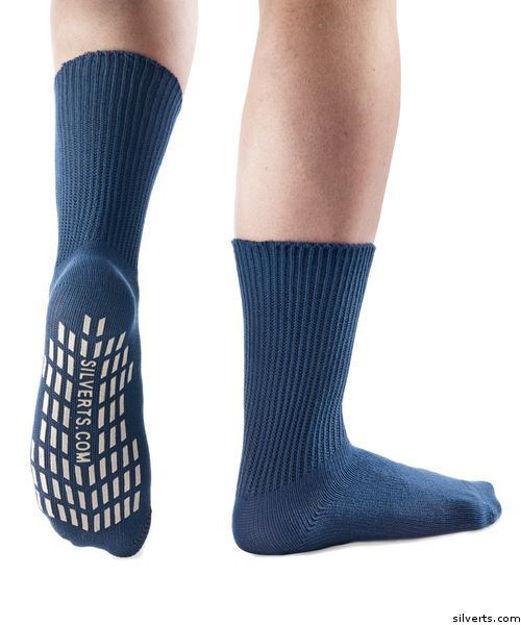 Diabetic Socks - Non Skid / No Slip Grip Hospital Socks