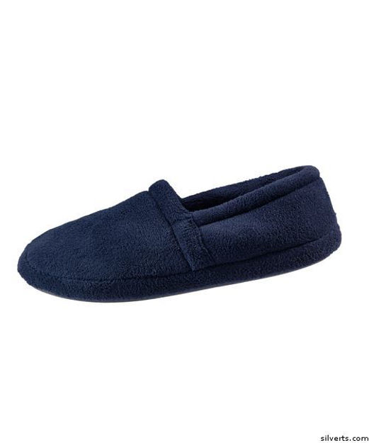 Mens House Slippers with Terry Fleece