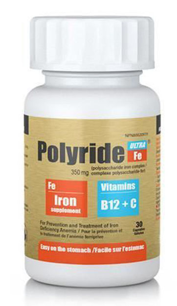 Picture of Polyride-Fe Ultra Vitamin C & B12 Capsule's