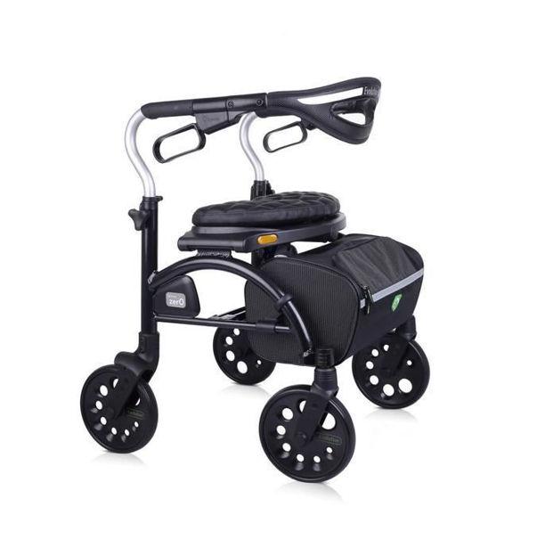 evolution zero walker black