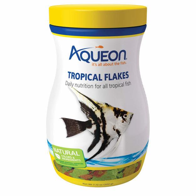 Aqueon Tropical Fish Food Flakes 7.12 ounces