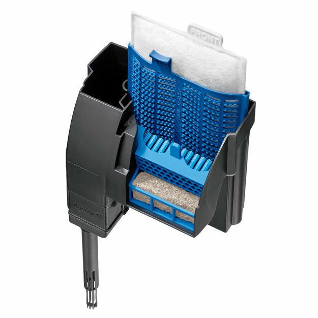 "Aqueon QuietFlow LED PRO Aquarium Power Filters Size 10 Black 6.4"" x 3.8"" x 6.3"""