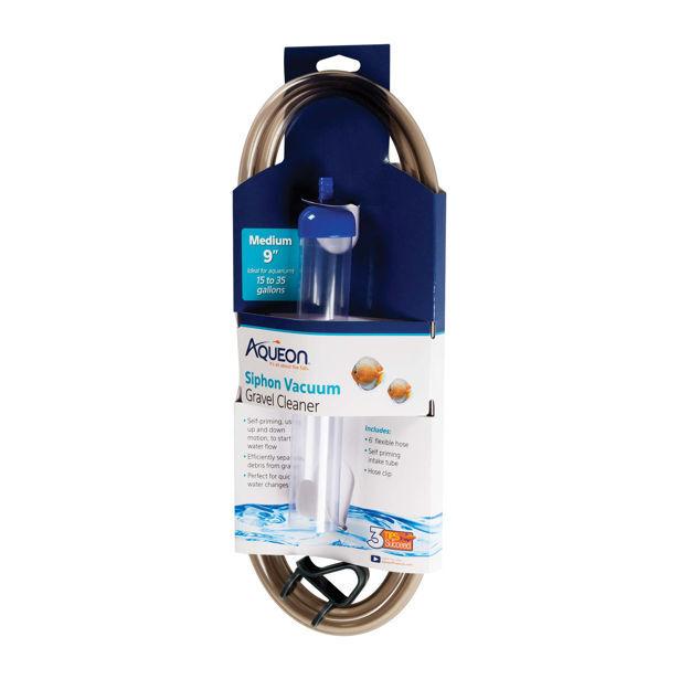 """Aqueon Siphon Vacuum Gravel Cleaner Medium 6.3"""" x 1.5"""" x 18.3"""""""
