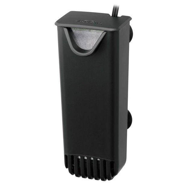 "Aqueon QuietFlow E Internal Power Filters Extra Small Black 2.75"" x 2.75"" x 6.81"""
