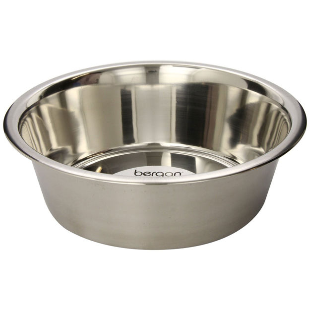 """Bergan Stainless Steel Bowl 17 cups Silver 11.2"""" x 11.2"""" x 4"""""""